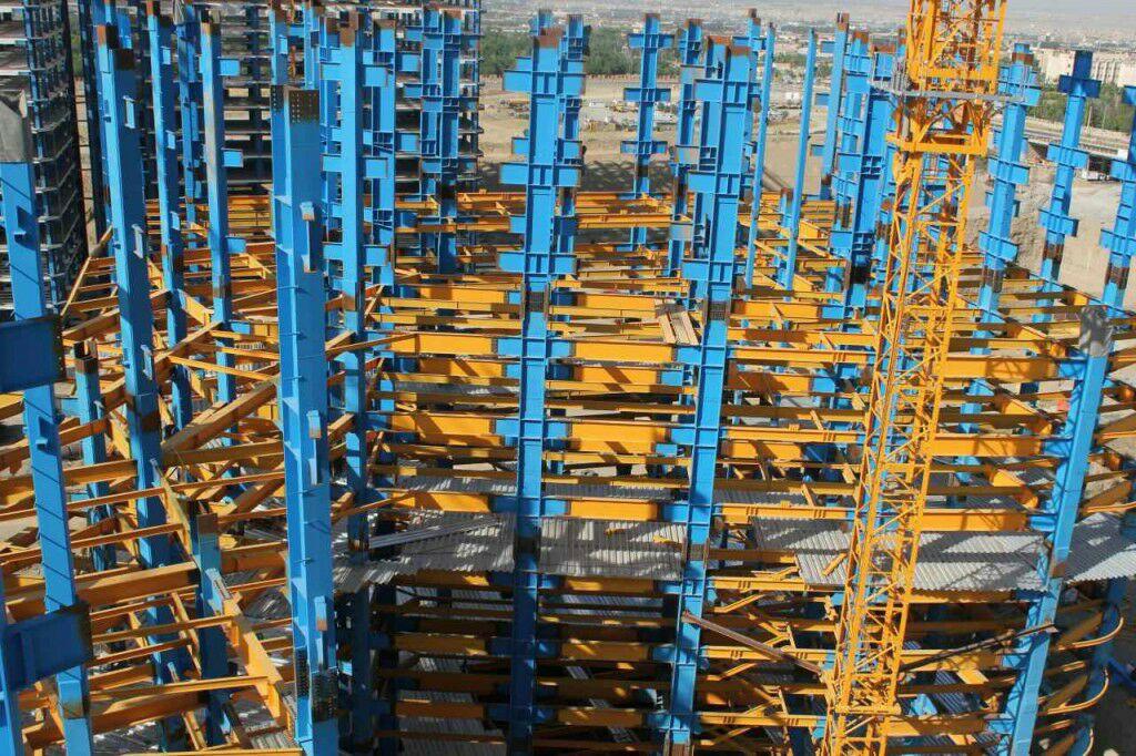 اسکلت برج مرجان