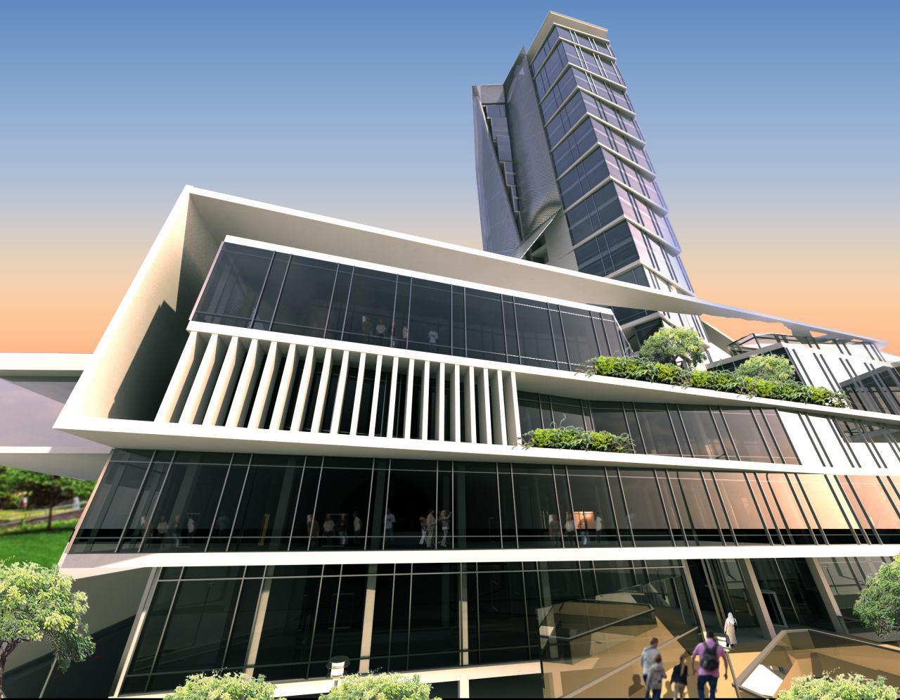 پروژه آرتمیس نمای برج t4