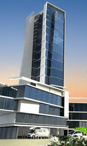 نمای برج t2
