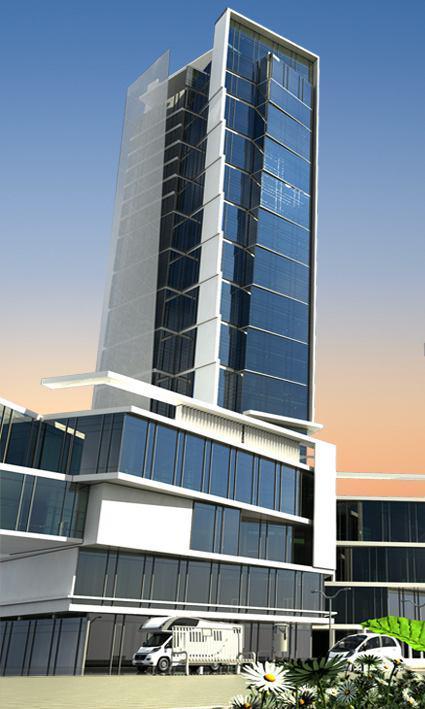 پروژه آرتمیس نمای برج t2