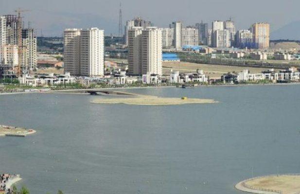 دربهترین موقعیت مکانی دریاچه خلیج فارس