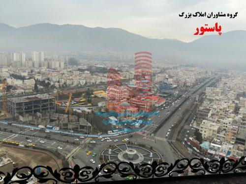 ویوی میدان المپیک از برج خاتم