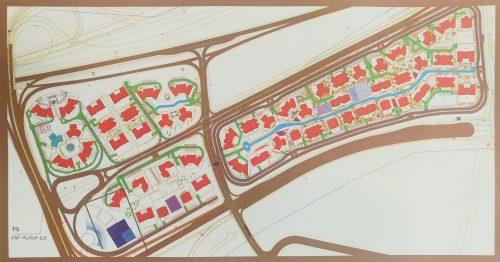 نقشه هوایی برج مروارید خیام واقع در مروارید شهر