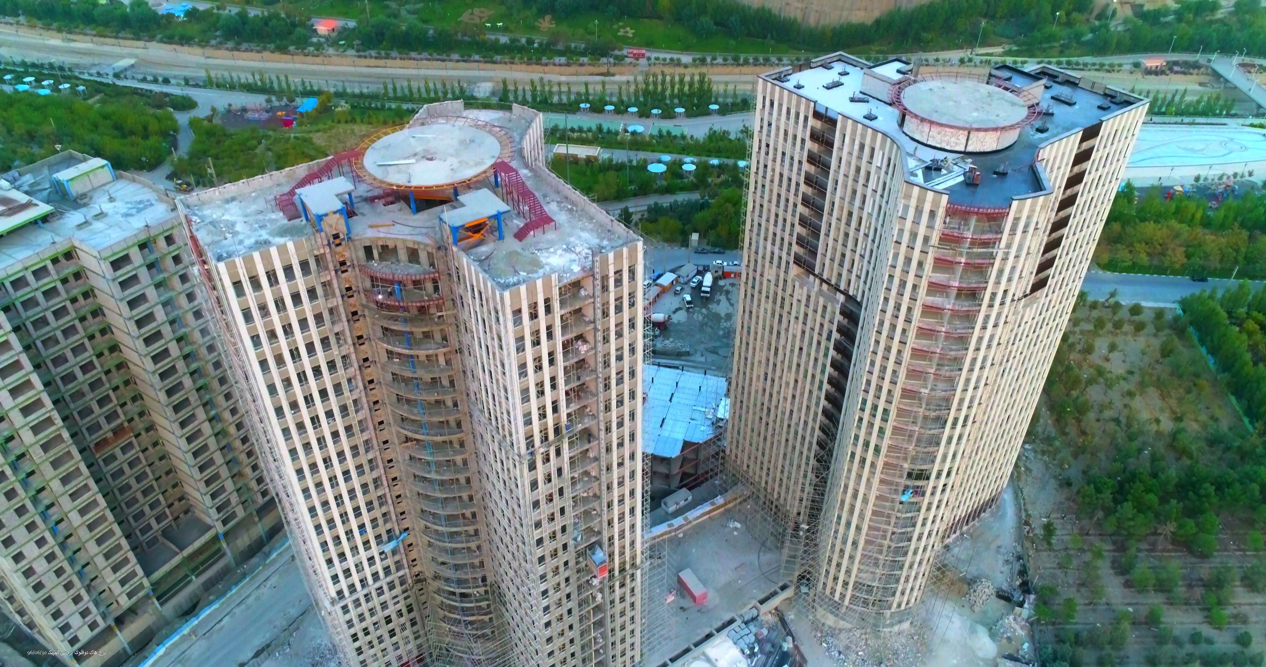 برج های دوقلوی پردیس المپیک
