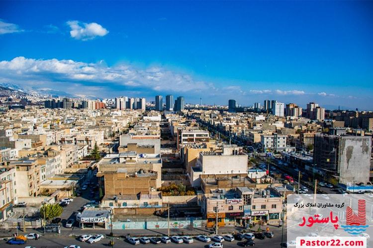 شهرک راه آهن منطقه 22 تهران